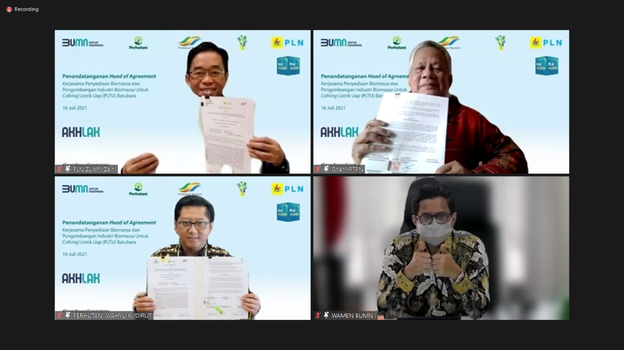 Sinergi 3 BUMN Wujudkan Indonesia Lebih Ramah Lingkungan
