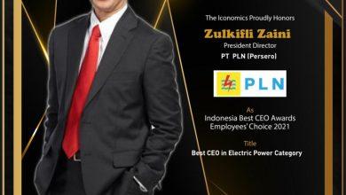 Photo of Dirut PLN Raih Penghargaan CEO Terbaik dari The Iconomics