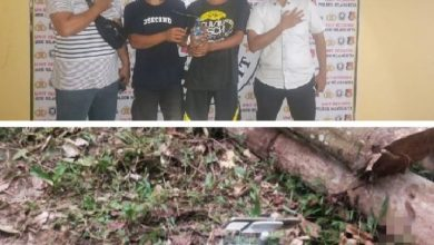 Photo of Pesta Narkoba, 2 Pelaku Diamankan, 3 Kabur