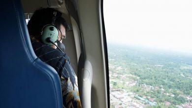 Photo of Bobby Nasution Naik Helikopter Pantau Mobilitas Warga Medan