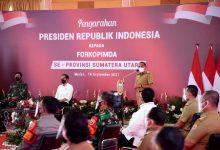 Photo of Edy Rahmayadi Laporkan Penurunan Kasus Covid-19 Sumut ke Presiden Jokowi