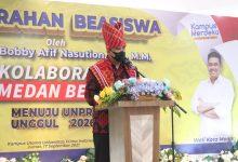 Photo of Bobby Nasution Dinobatkan Sebagai Tokoh Peduli Pendidikan